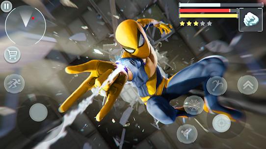 Spider Hero – Super crime city battle MOD (Money/Rewards/No Ads) 1