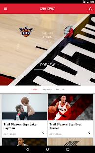 Portland Trail Blazers- screenshot thumbnail