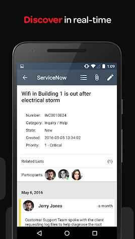 ServiceNow Classic Screenshot