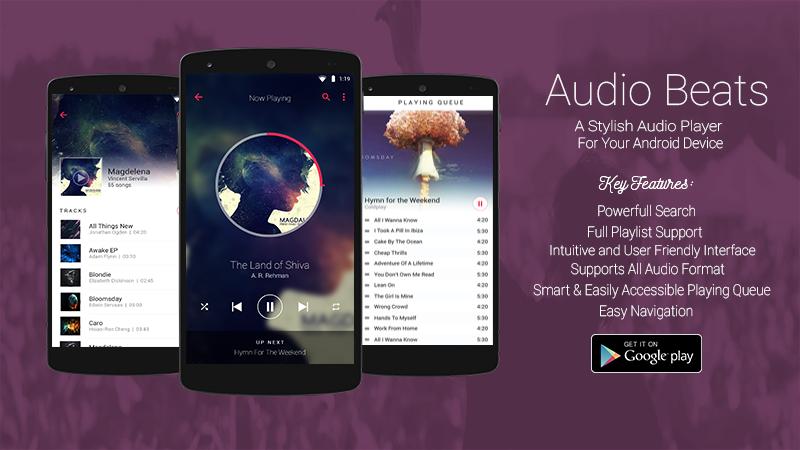 Audio Beats - Mp3 Music Player, Free Music Player Screenshot 10