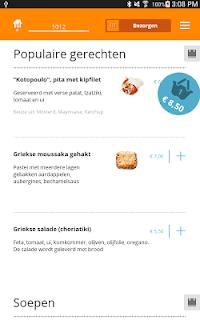 Thuisbezorgd.nl - Order food screenshot 11