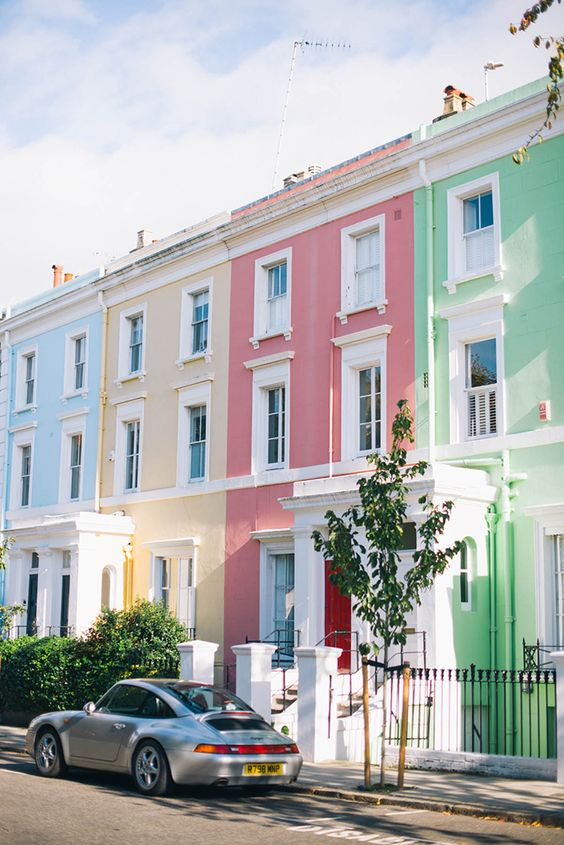 5 Rules to Choosing an Exterior Colour Scheme - pastels