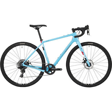 Salsa Warbird Carbon Apex 1 Bike- Light Blue