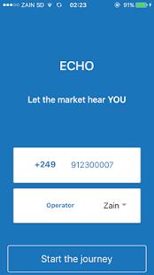 echo - náhled