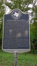 Photo: Portilla marker, San Marcos: Spanish-born, he founded the original town 10/14/14