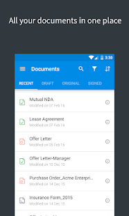 SignEasy | Sign documents- screenshot thumbnail