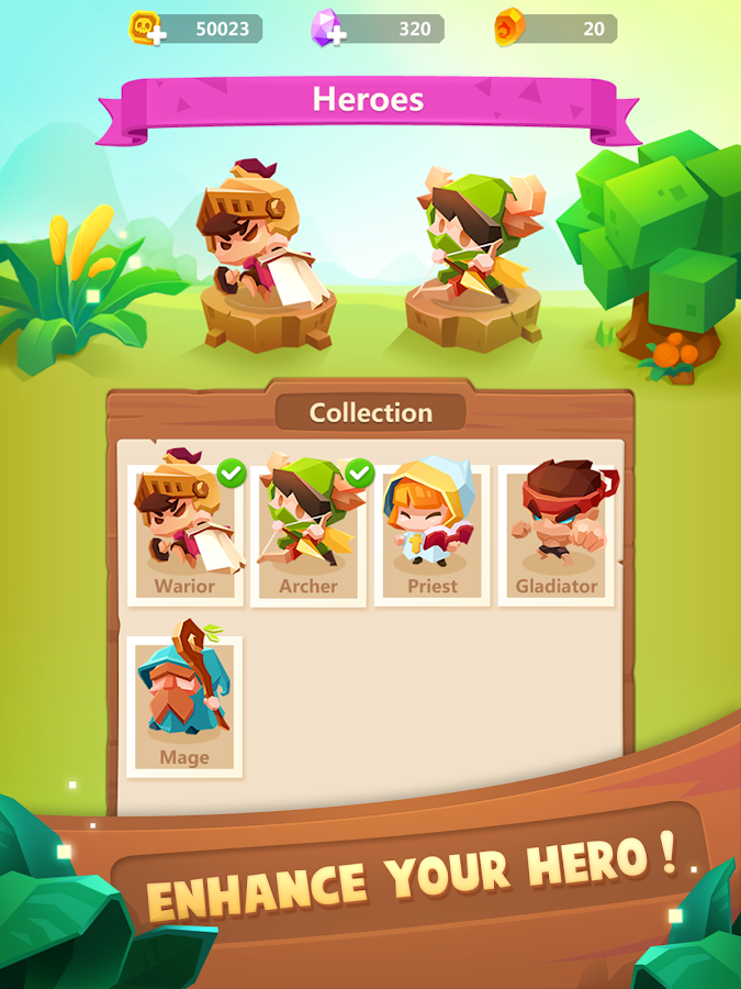 Push Heroes- screenshot