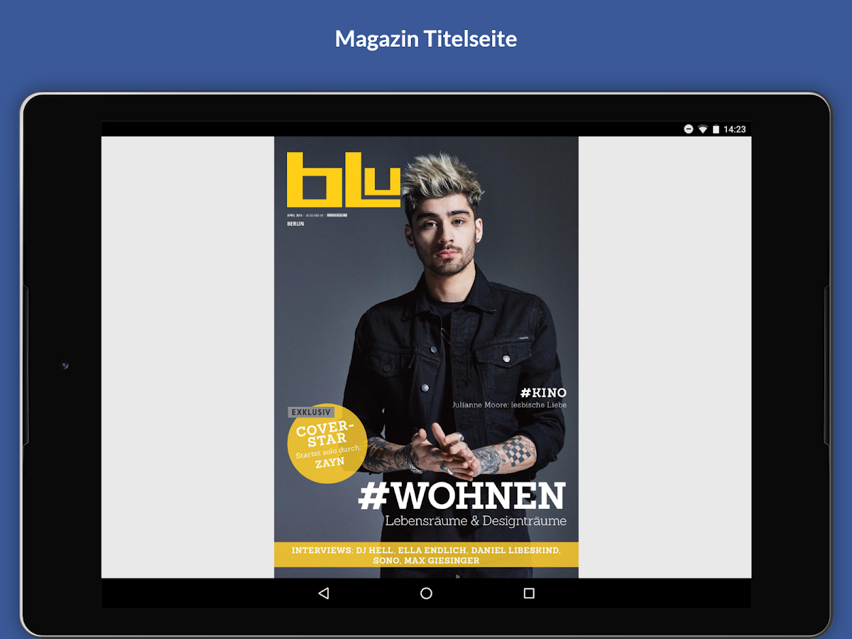 blu Mediengruppe – Screenshot