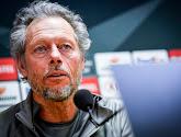 """Michel Preud'homme : """"La carte rouge a changé les plans"""""""