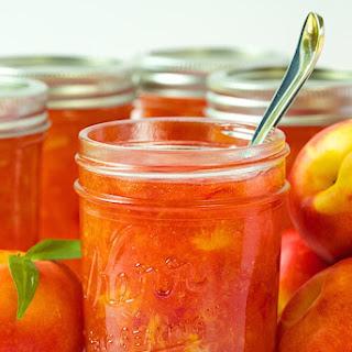 Nectarine Freezer Jam.