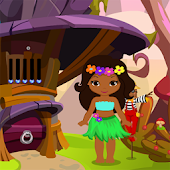 Cute Hawaiian Dancer Girl Rescue Kavi Game-297 Android APK Download Free By Kavi Games