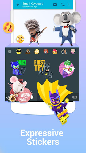 Kika Keyboard - Emoji, GIFs screenshot 3