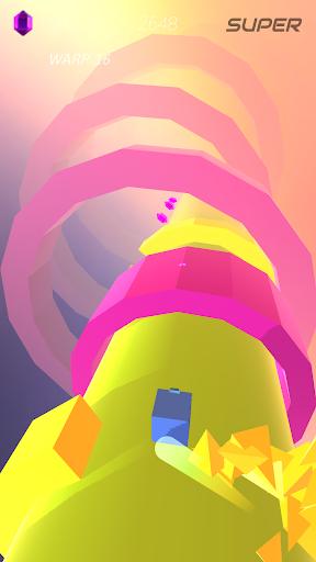 Warp and Roll - running flight action game 1.1.7 screenshots 8