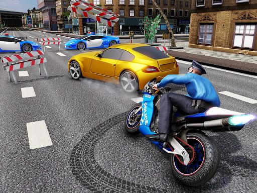 US Police Bike Chase 2020 3.7 screenshots 10