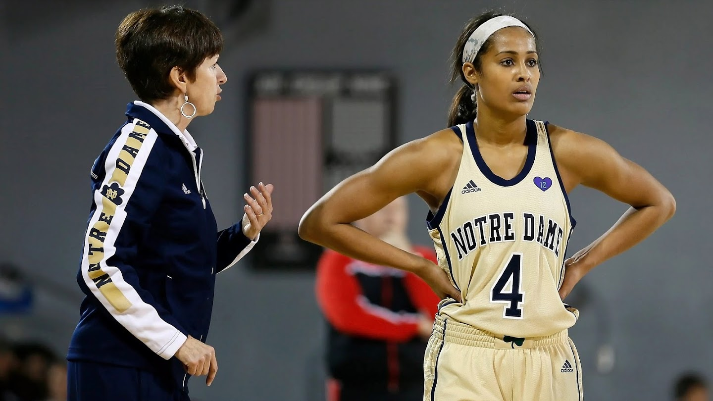 Watch All Access with Notre Dame Women's Basketball live