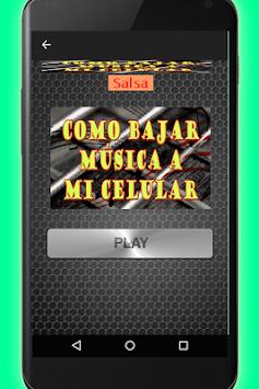 como bajar musica desde mi celular