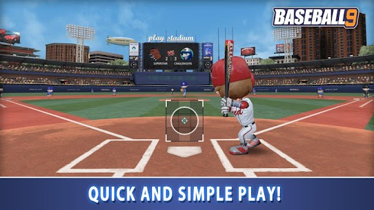 BASEBALL 9 MOD APK (Unlimited Money) 1