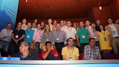 Parte de la delegación almeriense.