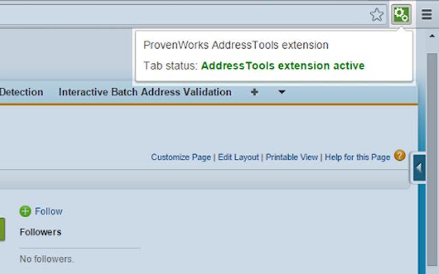 AddressTools extension