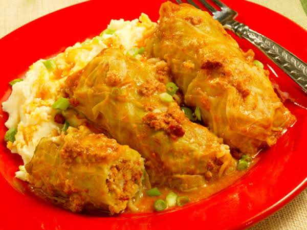 Chorizo Stuffed Cabbage Rolls Recipe
