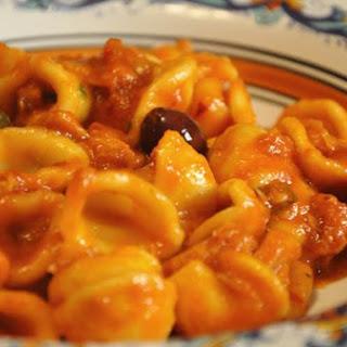 Pasta Al Tonno E Caperi
