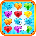 Sweet Candy Heart Puzzle icon