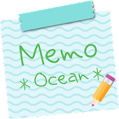 Sticky Memo Notepad *Ocean*