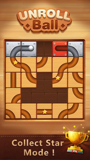 Unblock The Ball - Roll & Drag Block Puzzle Games Screenshot