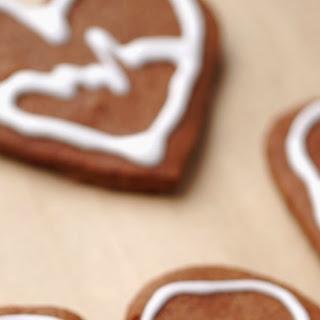 EKG Heart Cookies