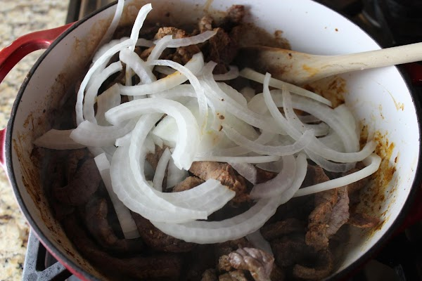 Don't over cook the onions, cook another 5 minutes.