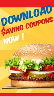 King Fast Food Coupons – Burger King, Pizza Screenshot