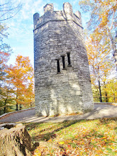 Photo: Golden morning light on a stone castle at Hills and Dales Metropark in Dayton, Ohio.