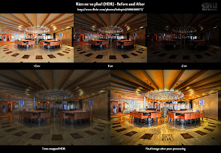 Photo: Rien ne va plus (HDR) - Before-and-After ( photo: http://bit.ly/gp-rien )  Here's the before-and-after comparison of the HDR image I posted yesterday.  For all the new people that have added me only recently: This is my way of giving you insight into the process of creating an HDR. On the top row, you see the images straight out of the camera. On the bottom left, you see the tone-mapped image, and on the bottom right you find the final image.  If you want more before-and-after comparisons, go to [ http://bit.ly/hdrc-bna ]. If you're interested in the specific post-processing workflow applied to this image, go to the flickr photo page at [ http://bit.ly/fr-rien ].  Enjoy!