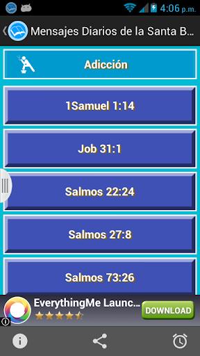 Mensajes Diarios Santa Biblia screenshot 2