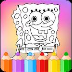 How to color SpongeBob icon