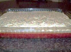 Strawberry Margarita Cake Overnight Sensation!