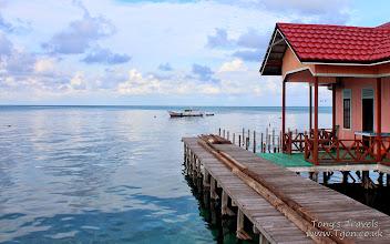 Photo: Our hotel room on Pulau Derawan, Borneo, Indonesia