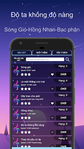 Song Tiles - Song gio Bac phan - Magic Tiles Piano apkmr screenshots 1