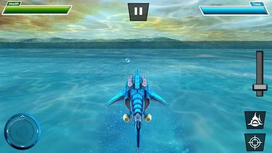 Warrior Robot Shark– Shark Robot Transformation 2