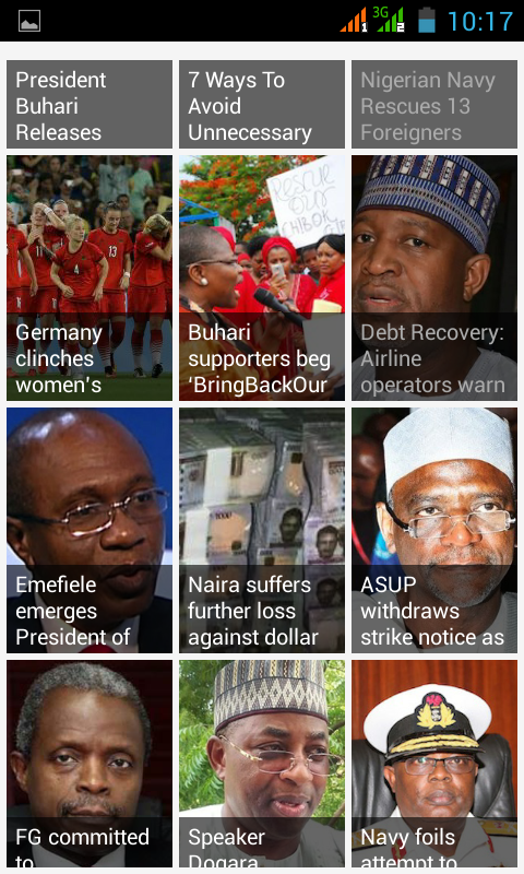 NaijaParrot App- screenshot