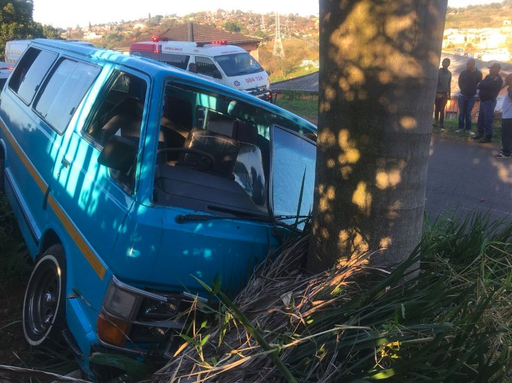 The children were on their way to school when the taxi crashed into a tree on Ramadas Road in Isipingo on September 11 2018.