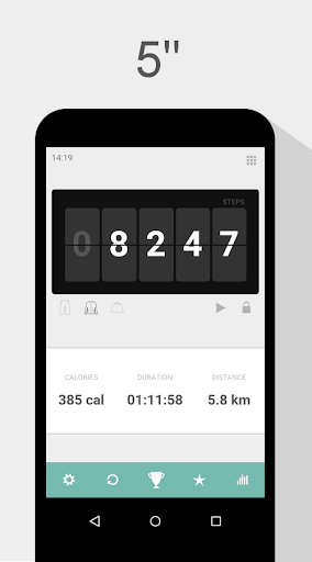 Pedometer - Step Counter - Calorie Counter screenshot 1