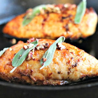 Maple Sage Glazed Chicken