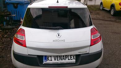 Photo: Renault Megan przyciemnianie szyb venaplex.pl tył folia średniociemna przód folia jasna