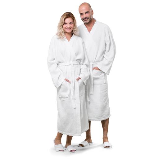 Waffle Pique Bath Robe