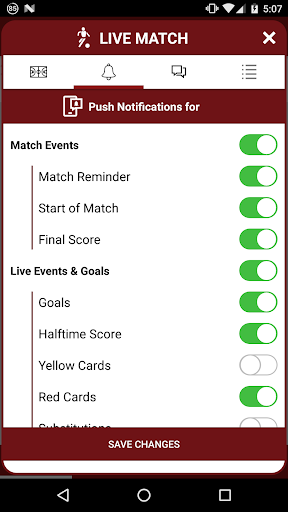 Bet IT Best - Livescores - screenshot