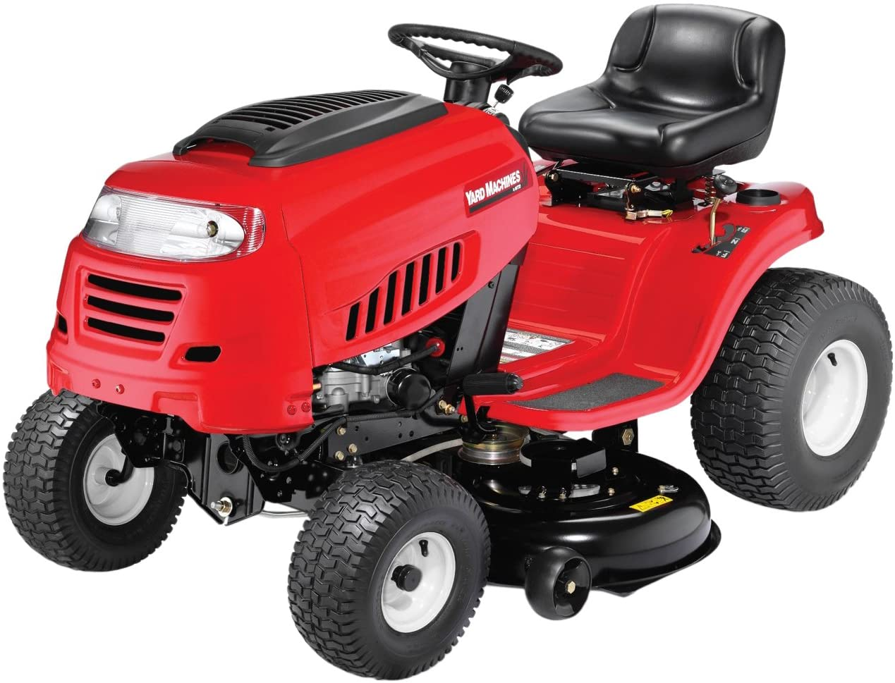420cc 42-Inch Yard Machines Best Riding Lawn Mower