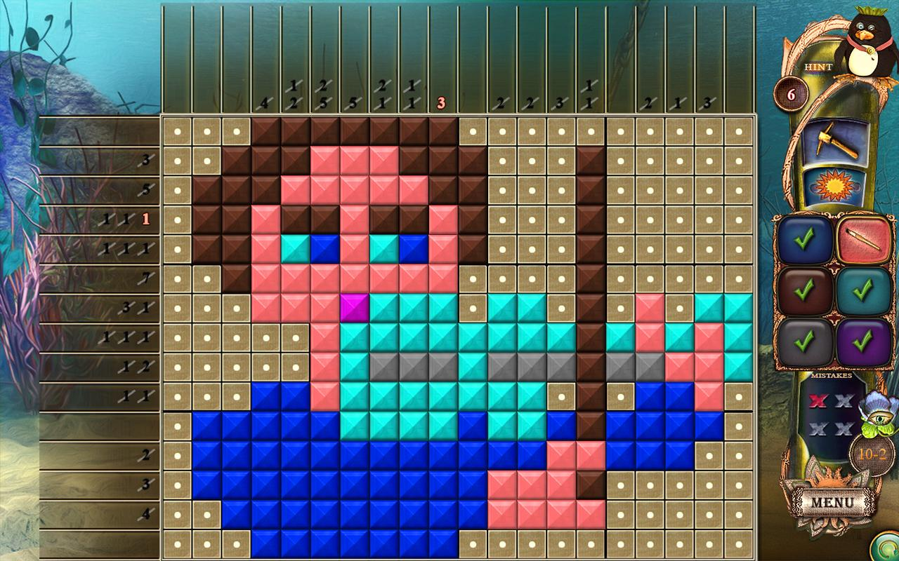 Fantasy Mosaics 18: Explore New Colors- screenshot