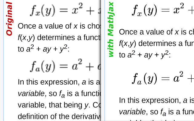 Wikipedia with MathJax