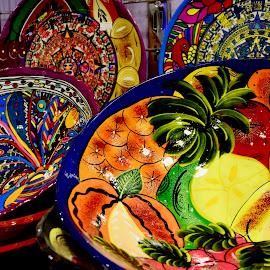 by Nadeem M Siddiqui - Artistic Objects Cups, Plates & Utensils